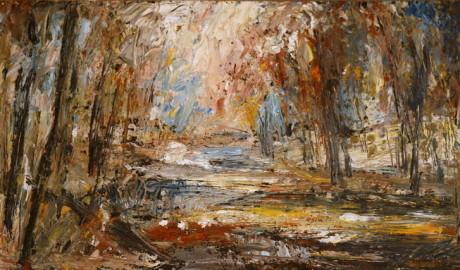 Zimní nálada (60×40, soukromá sbírka)