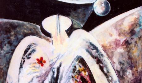 Vesmírný poutník (90×75)