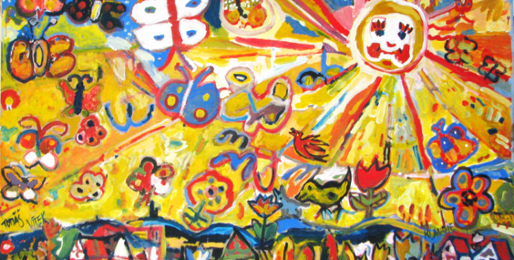 Malování s dětmi